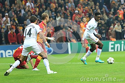 Galatasaray FC - Manchester United FC Editorial Image