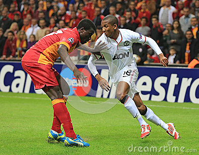 Galatasaray FC - Manchester United FC Editorial Photo