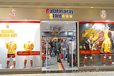 Galatasaray Store Editorial Stock Image