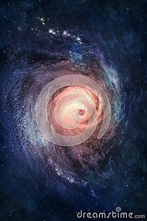 Galaxie spiralée.