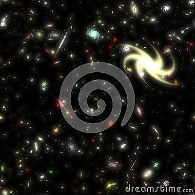 Galaxy bezszwowy