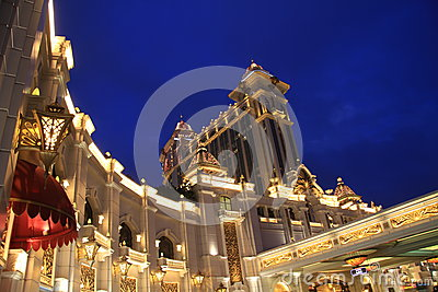 The Galaxy casino in Macao Editorial Image