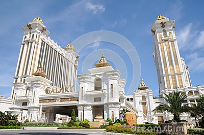Galaxy Macau Resort Editorial Stock Image