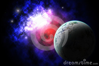 Galaxy and Planet