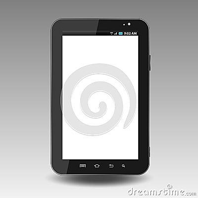 Vector illustration of tablet