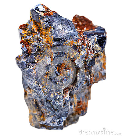 Galena mineral crystals