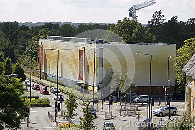 Galeria de arte de Lightbox, Woking Foto de Stock Editorial