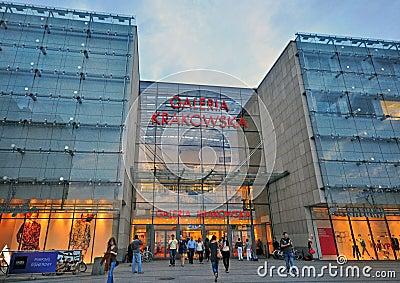Galeria Krakowska Editorial Stock Photo