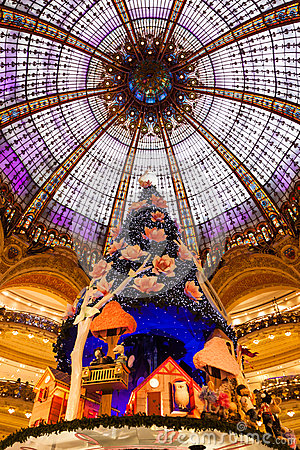 Free Galeries Lafayette Stock Photos - 49497483