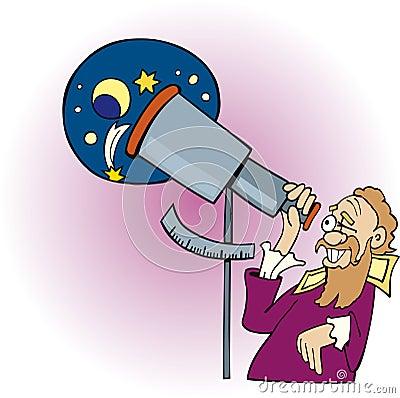 Galileo The Astronomer Stock Image Image 7093741