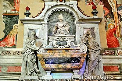 Galileo Galilei s tomb in Italy
