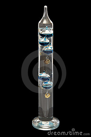 Free Galileo-thermometer Royalty Free Stock Photo - 12180115