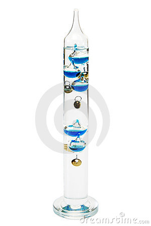 Free Galileo-thermometer Royalty Free Stock Images - 12274419