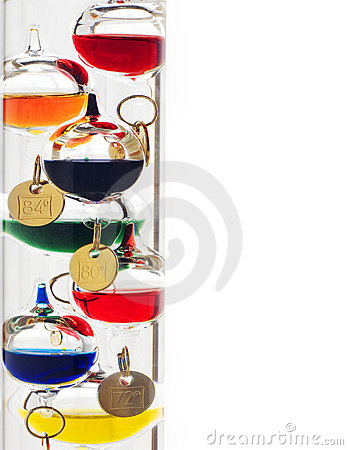 Free Galileo Thermometer Royalty Free Stock Photography - 8263847