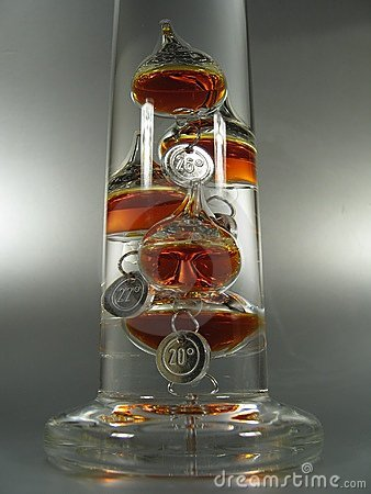 Galileo-Thermometer II
