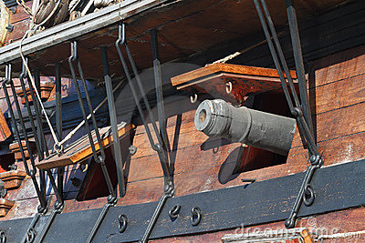 Galleon closeup