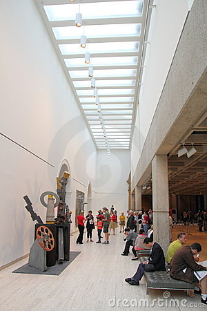 Galleria di arte Immagine Stock Editoriale
