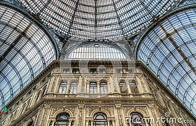 Galleria Umberto, Naples, Italy