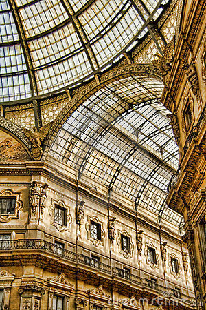Free Galleria Vittorio Emanuele II Royalty Free Stock Photography - 7149697