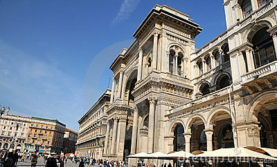 The Galleria Vittorio Emanuele II - Milan Editorial Stock Image