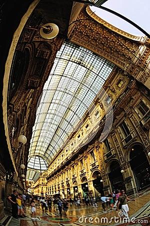 Free Galleria Vittorio Emanuele II Milan Lombardy Italy Royalty Free Stock Image - 13045016