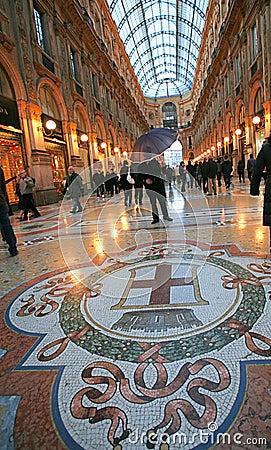 Free Galleria Vittorio In Milan Royalty Free Stock Photos - 4694598
