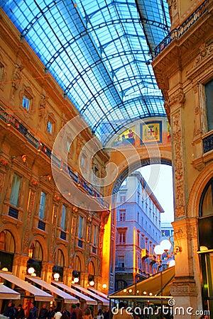 Free Galleria Vittorio In Milan Stock Image - 4834911