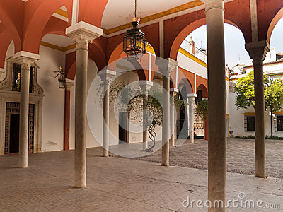 Galleries of Casa de Pilatos, Seville