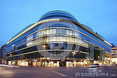Galleries Lafayette in Berlin Editorial Stock Image