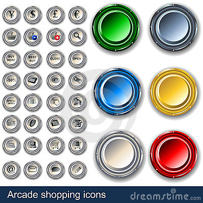 Gallerit buttons shopping