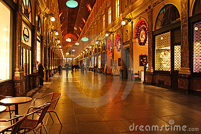 Gallery In Brussels Royalty Free Stock Photos - Image: 2395968