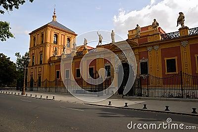 Gallery of illustrious Sevillians