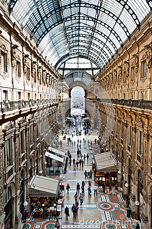 Free Gallery In Milan Royalty Free Stock Photography - 24673157