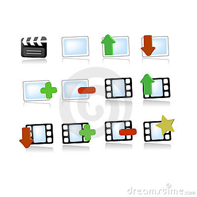 Gallery media video icons