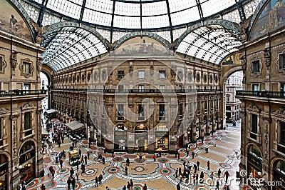 Gallery in Milan Editorial Image