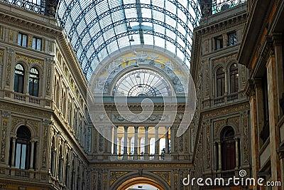 Gallery Umberto Uno in Naples