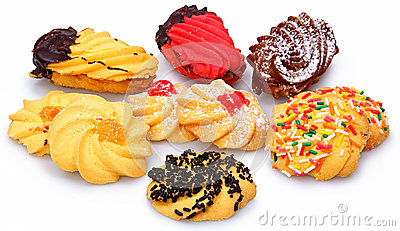 Galletas clasificadas de Biscotti del italiano