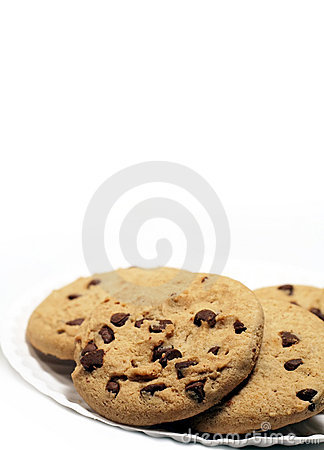 Galletas de viruta de chocolate