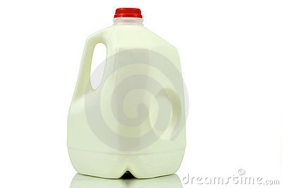Gallon milk container