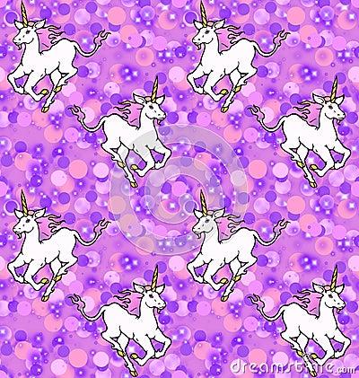 Unicorns Stock Illustrations Unicorn Background