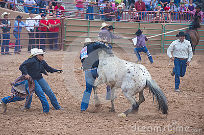 Gallup, Indian Rodeo Editorial Stock Photo