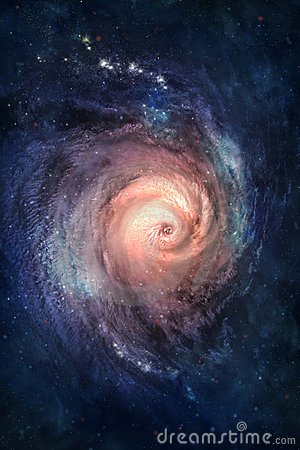 Galáxia espiral.