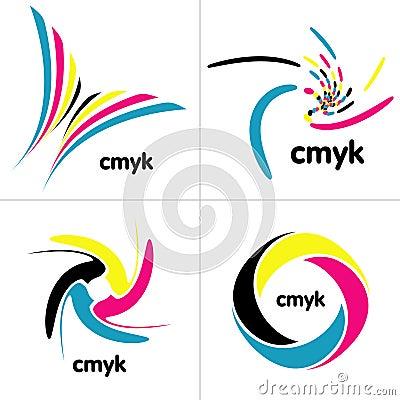 Gama de colores de Cmyk