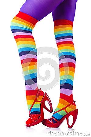 Gambe della donna