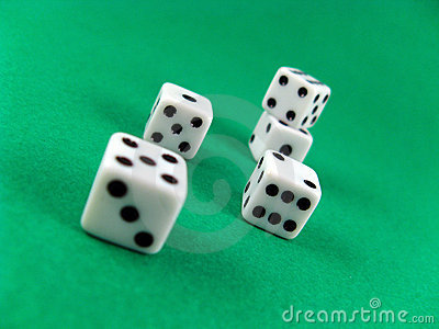 Gamble casino cubes