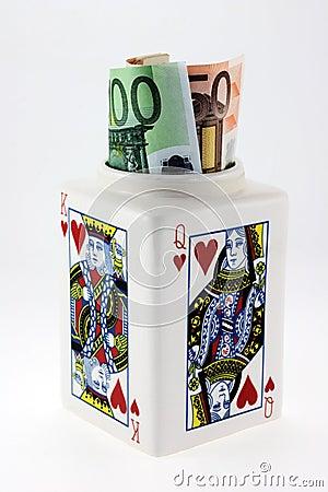 Gambler's earning. For fun.