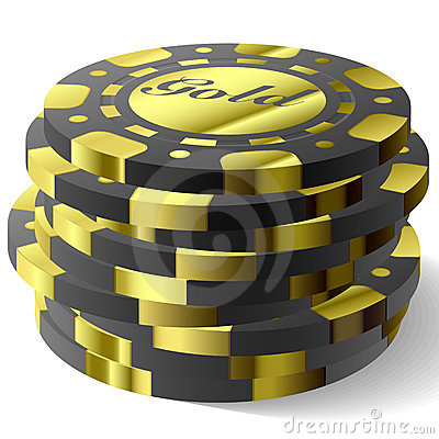 Free Gambling Chips Royalty Free Stock Photo - 6709885