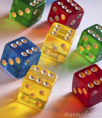 Gambling - Colored Dice