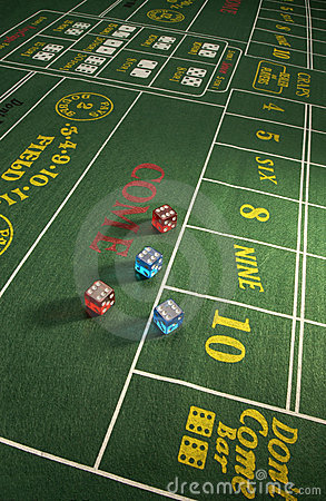 Gambling - Craps Table
