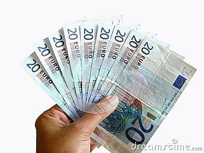 Gambling money !